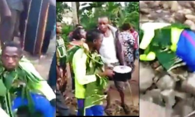 21-year old man allegedly poisons twin brother for money ritual (video)
