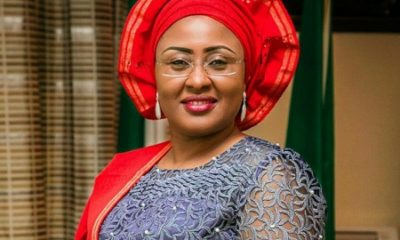 JUST IN: Aisha Buhari returns to Nigeria after six months in Dubai