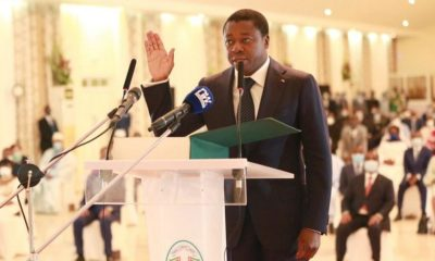 President Gnassingbe takes oath of office for fourth straight term