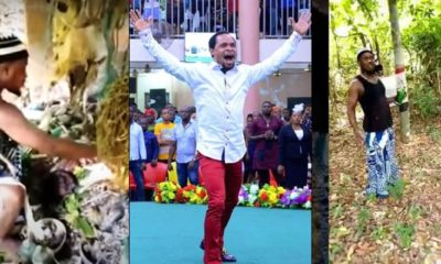 Native doctor reveals source of Odumeje's power, lays curses on him in shrine (video)