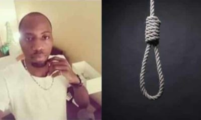 Banker commits suicide in Lagos, leaves note for his girlfriend, dad