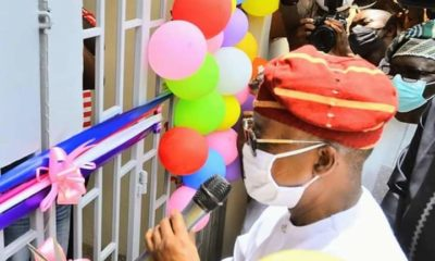 Covid-19: Oyetola commissions 160-bed isolation centre
