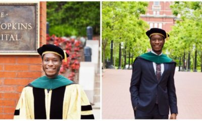 Nigerian Man bags Medical Degree in the US after applying eight times