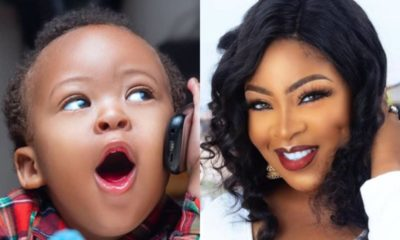 Bidemi Kosoko shares adorable photos of son as he clocks one