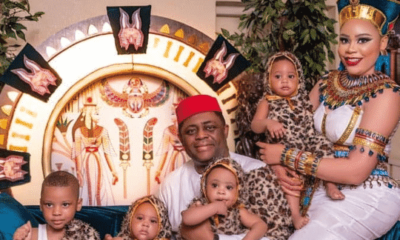 Fani-Kayode offers scholarships to 300 students in honour of his wife, triplets