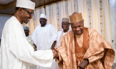 Buhari congratulates Masari at 70