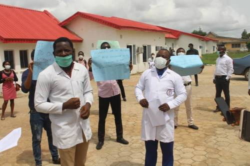 Ondo: Medical Practitioners threaten strike action over cut in basic salaries