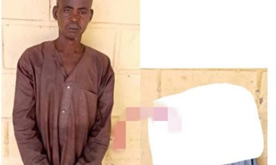 Bachelor, 66, arrested for allegedly luring, raping minors with chocolates in Yobe