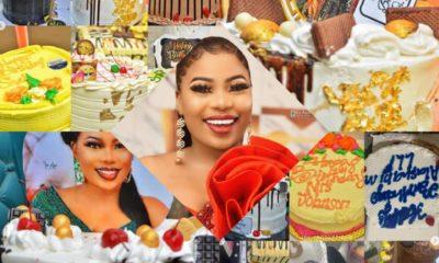 I got 22 cakes on my birthday, can't help but post it, Seyi Edun brags