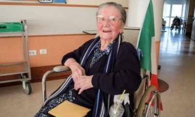 Covid-19: 108-year old Italian woman recovers