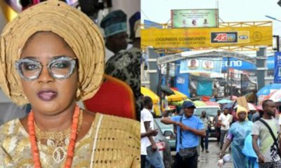 Tinubu's daughter reportedly shuts down Computer Village over unpaid levies
