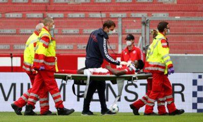 Nigerian striker, Awoniyi hospitalized