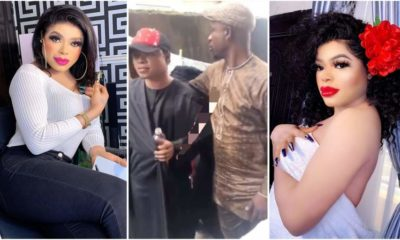 Bobrisky reacts to viral photos of him dressed as a man