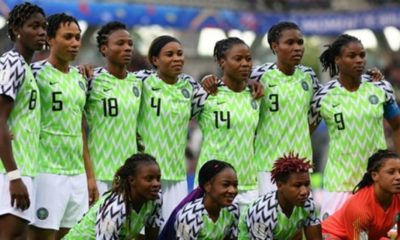 2019 Women's World Cup: Super Falcons' home kit voted best jersey