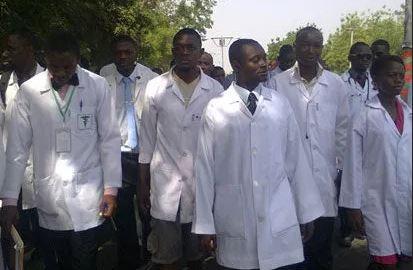 Buhari's two-week medical trip, NARD reacts to Buhari trip. Resident doctors kick against Buhari medical trip