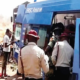 FRSC officers at accident scene