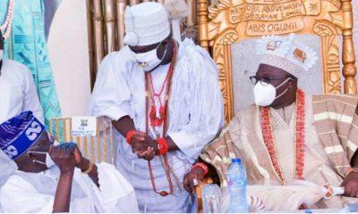 Tinubu, Ooni of Ife and Oniru