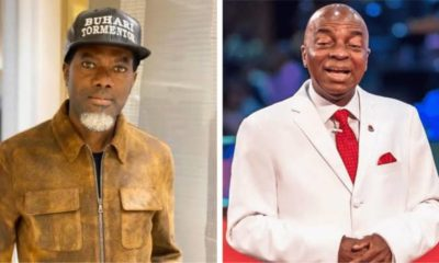 Reno Omokri and Bishop David Oyedepo