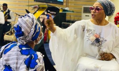Folorunsho Alakija anointing oil
