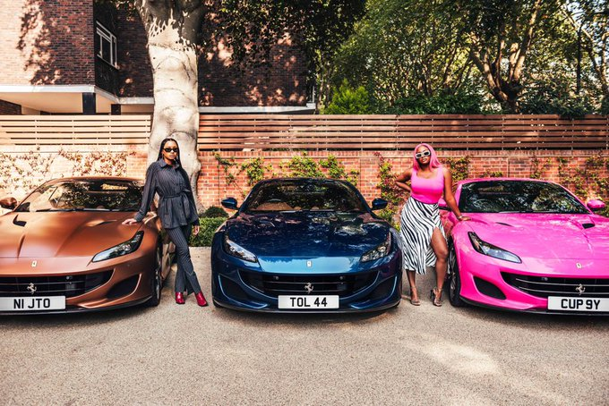 Otedola buys Ferrari Portofino for daughters