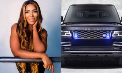 Linda Ikeji Range Rover