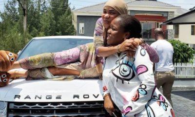 Iyabo Ojo range rover evoque