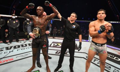paulo costa and Israel Adesanya