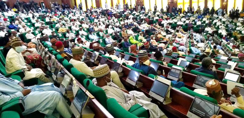 A cross-section of parliamentarians during the presentation of the 2021 Appropriation Bill by President Muhammadu Buhari to a joint session of the National Assembly in Abuja on Thursday (8/10/20). Photo: NAN