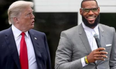 trump and lebron james
