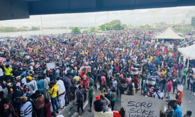 #EndSARS protesters wanted to remove me from office - Buhari