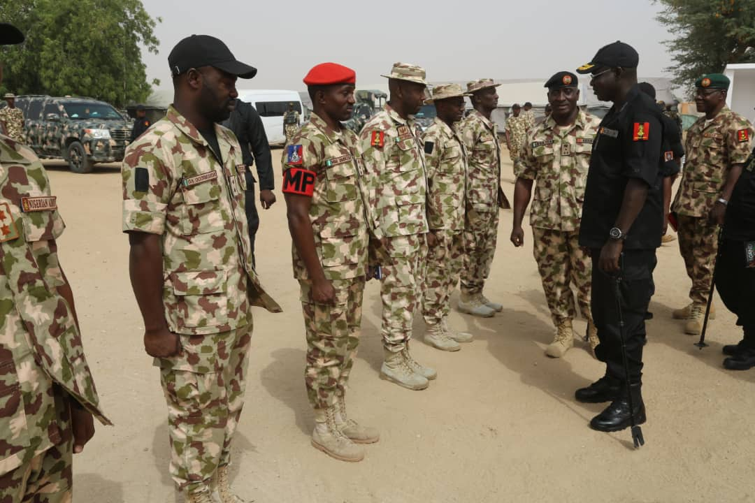 COAS Yahaya commiserates with soldiers involved inBorno road accident