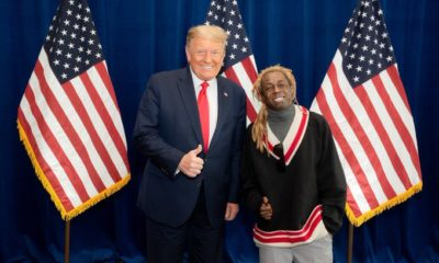 trump and lil wayne