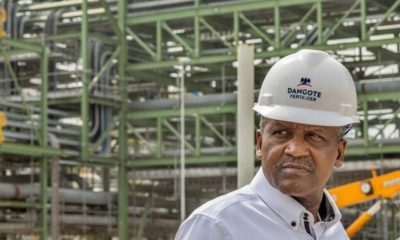 Dangote Group $2bn fertilizer plant