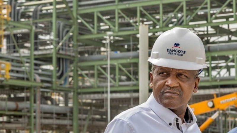 Dangote Group $2bn fertiliser plant