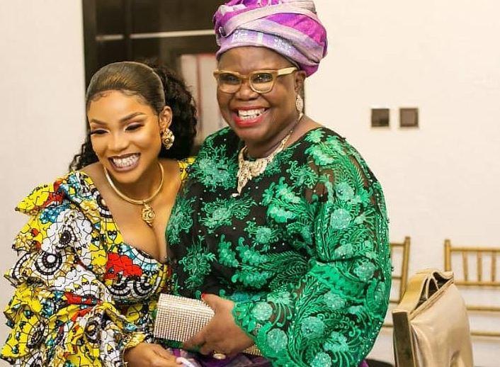 Iyabo Ojo and mother