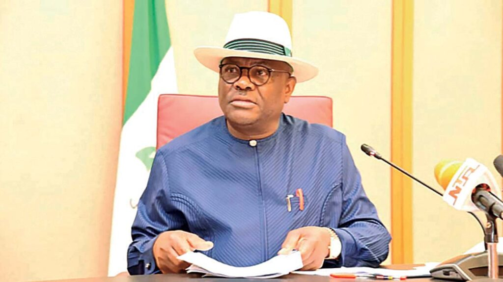 Wike Rivers Commissioner