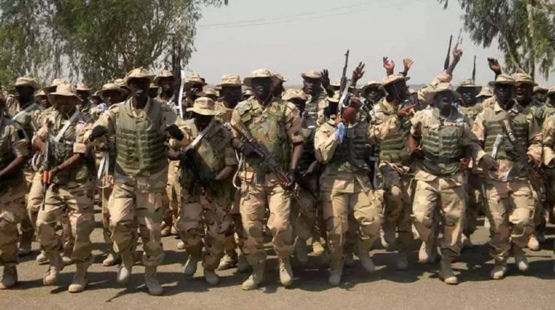 Pray for Nigerian soldiers