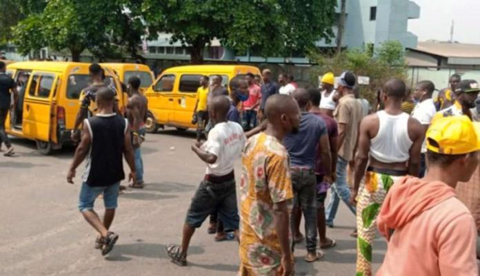 Remove term: Commuters stranded Commuters strandedRemove term: danfo drivers protest danfo drivers protestRemove term: Lagos-Badagry Expressway Lagos-Badagry Expressway