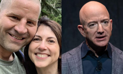 Jeff Bezos, Mackenzie Scott, science teacher, Amazon