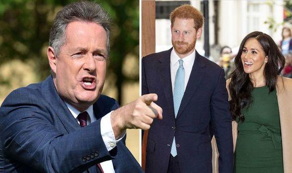 Piers, Harry, Meghan ITV GMB