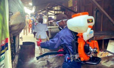 Lagos fumigates 26 poultry markets