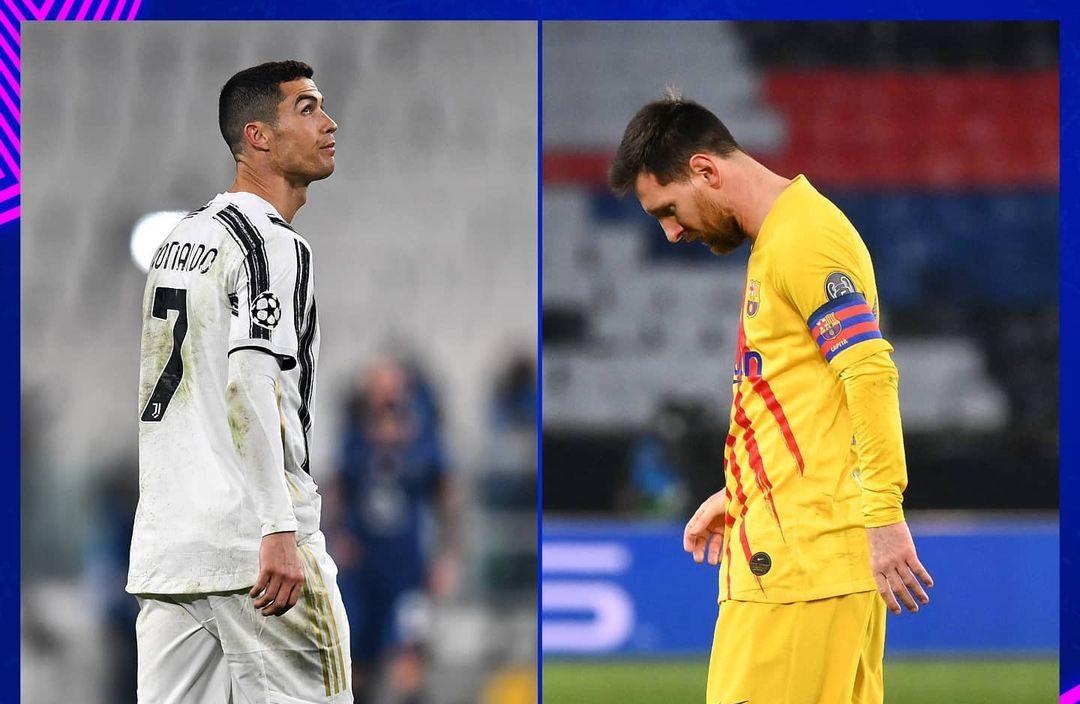 Messi-Ronaldo Champions League Barcelona Juventus GOAT