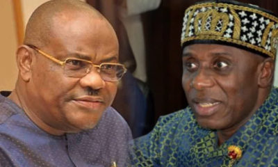 Rivers State Governor, Rotimi Amaechi, South-South state, Nyesom Wike