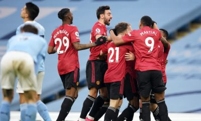 Man United beat City Manchester Derby