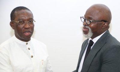 Okowa commends Pinnick