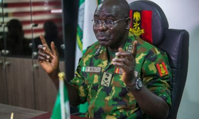 Chief of Army Staff, Tukur Buratai, Major General Babagana Monguno
