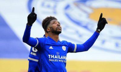Super Eagles striker, Kelechi Iheanacho, hat-trick, Leicester City