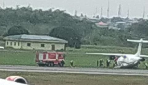 Dornier AIEP Airline, Murtala Muhammed International Airport, Accident Investigation Bureau
