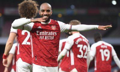 Lacazette Arsenal Tottenham