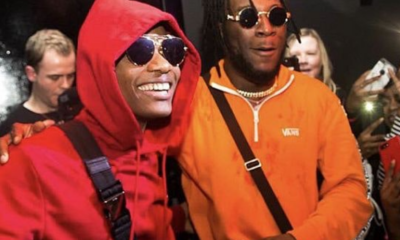 I'm in no competition with Wizkid - Burna Boy